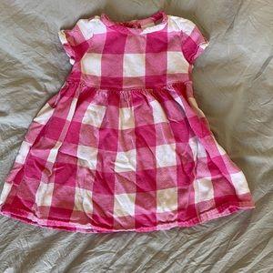 Gymboree pink and white Dress